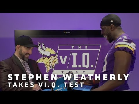 vI.Q. Test: Stephen Weatherly | Minnesota Vikings