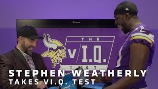 vI.Q. Test: Stephen Weatherly | Minnesota Vikings