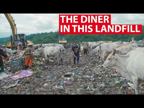 The Diner In This Landfill | Indonesia's Game Changers | CNA Insider