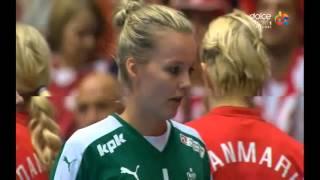 CM 2015 Sferturi de finală: Danemarca - România