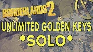 Borderlands 2 Unlimited Golden Keys Glitch Solo!!! II PS3 Tutorial II 1.02 Version. II NO Mods