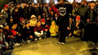 Bboy YNOT vs Bboy Whacko @Culture Shock Jam3 Day1 Top Rock Battle(final).MOV