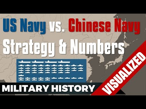 US Navy vs Chinese Navy (PLAN) - Strategy & Numbers (2014-2017)