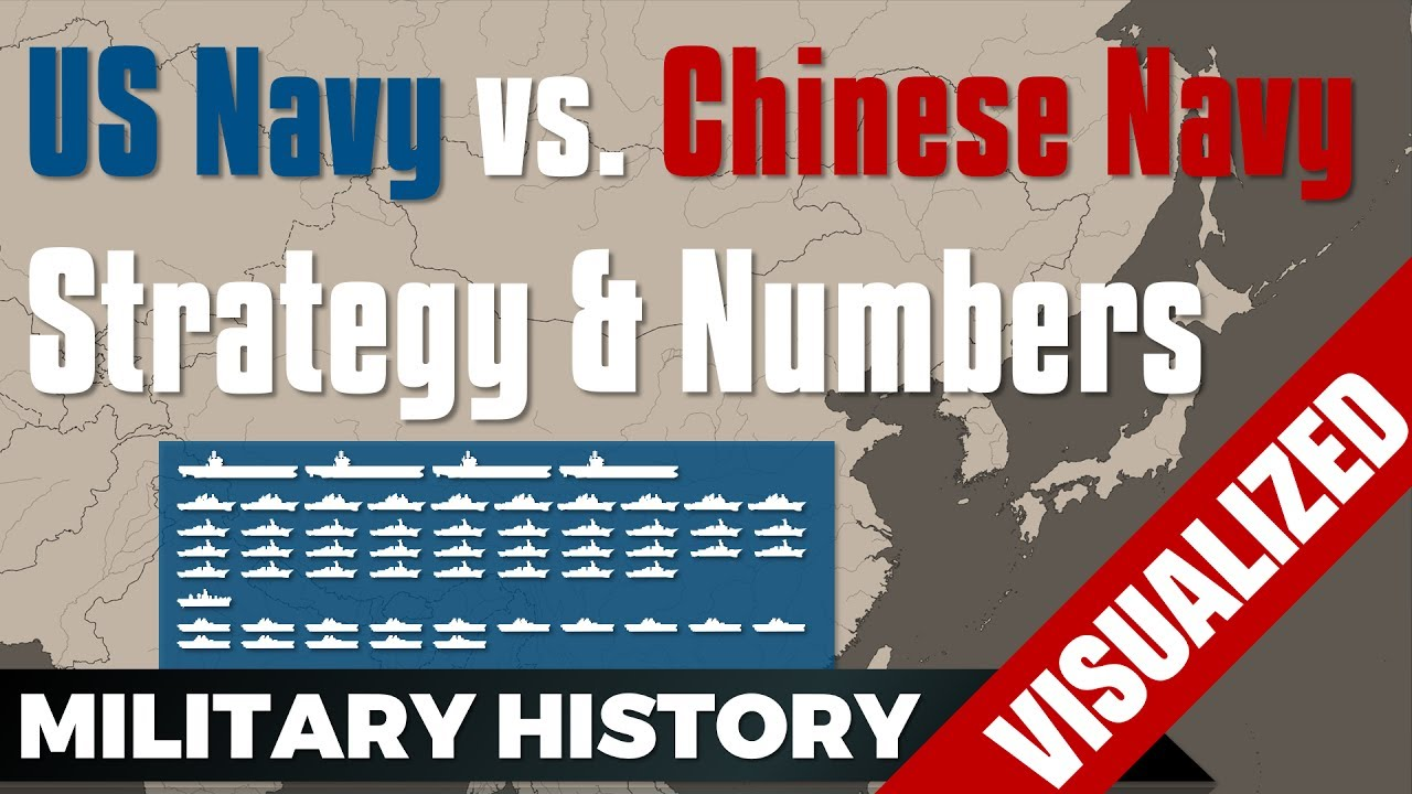 Us Navy Vs Chinese Navy Plan Strategy Numbers 2014 2017