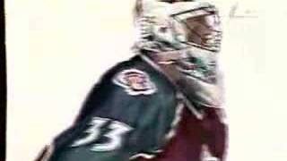 Patrick Roy Over The Red-Line