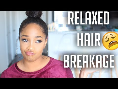 Why Your Relaxed Hair Is Breaking Off! | Tips To Stop Breakage
