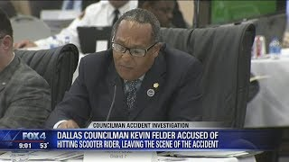 Dallas city councilman accused of hitting scooter rider, driving away