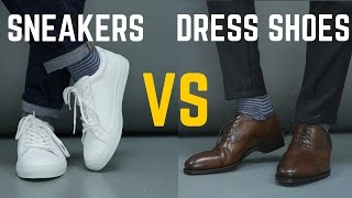 Dress Shoe vs Sneakers | Which One is MORE STYLISH?