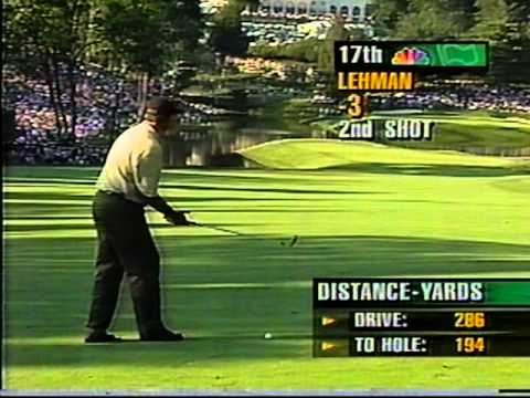 Tom Lehman A Regrettable Shot 1997 Us Open Youtube