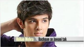 Rohan Mehra Childhood Pictures (Bachpan se Jawani tak)