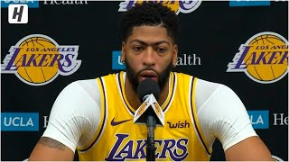 Anthony Davis Full Press Conference Interview | 2019 NBA Media Day | Lakers