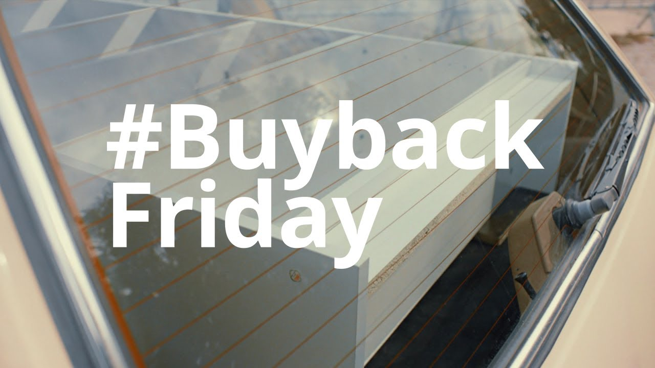 Ikea Is Buying Back Old Furniture On Black Friday Buybackfriday Youtube