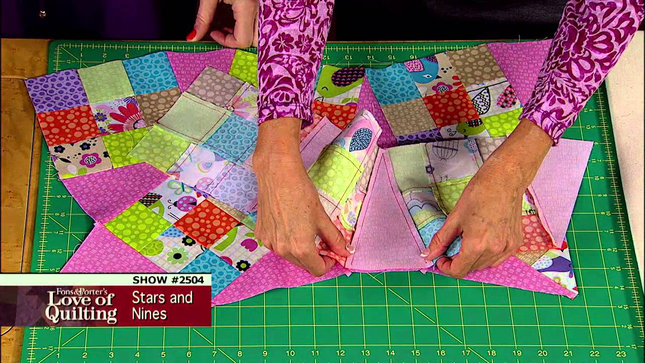 Love Of Quilting Preview Star Quilt Meets Scrap Quilt Pattern