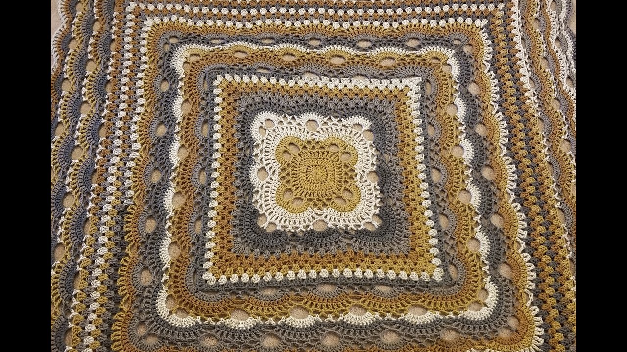 Part 2 - The Virus Meets Granny Blanket Crochet Along!