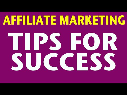 Affiliate Marketing - Overview for Beginners