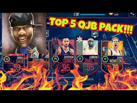TOP 5 Incredible QJB Pack in NBA LIVE MOBILE!!!