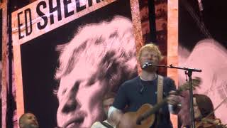 Ed Sheeran - Galway Girl with Beoga - Divide Tour Ipswich 25th August 2019