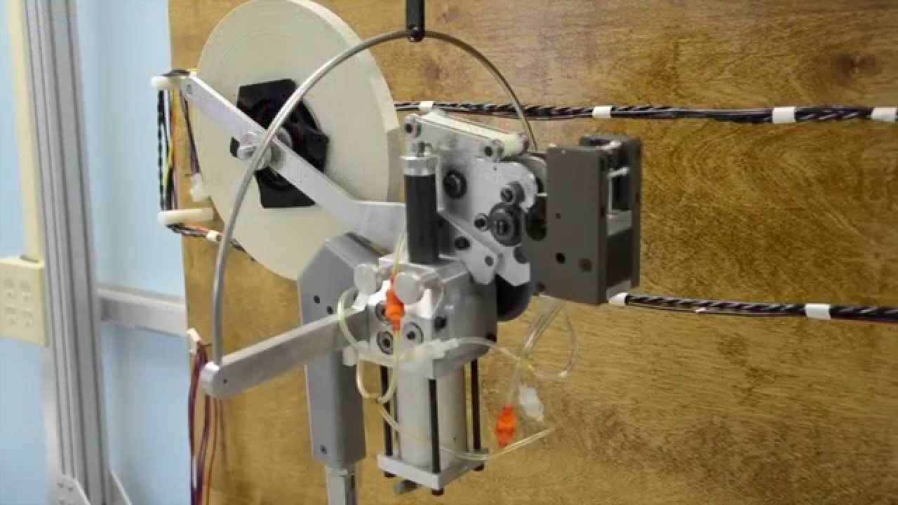 Semi- Automatic Wire Spot Taping System - Spring Mills ... on