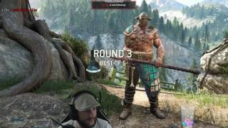 For Honor - Warlord vs Raider - ONE OF BEST RAIDERS? BUT SUCH ARROGANCE!