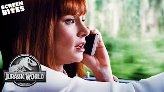 "Jurassic World | ""It's In The Cage!"" 