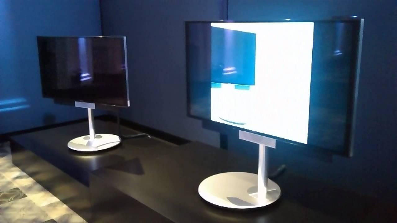Bang  Olufsen BeoVision Avant 4K TV  motorised stand