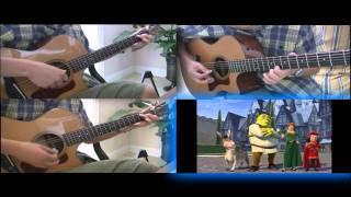 Hallelujah (Leonard Cohen, Shrek Soundtrack) - Fingerstyle Guitar Instrumental