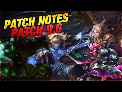 Bye Bye Double Tear Ezreal! LOL Patch Rundown 9.6 [League of Legends] thumbnail