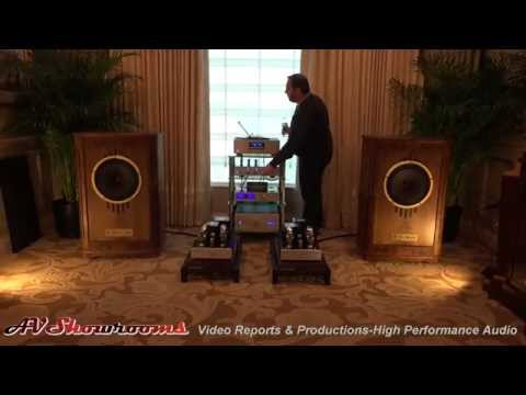 Cary Audio and Tannoy, beautiful amps and loudspeakers, CES