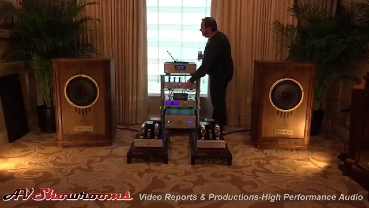 Cary audio and tannoy beautiful amps and loudspeakers ces youtube sciox Image collections