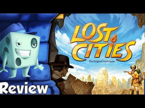 Lost Cities Review - With Tom Vasel