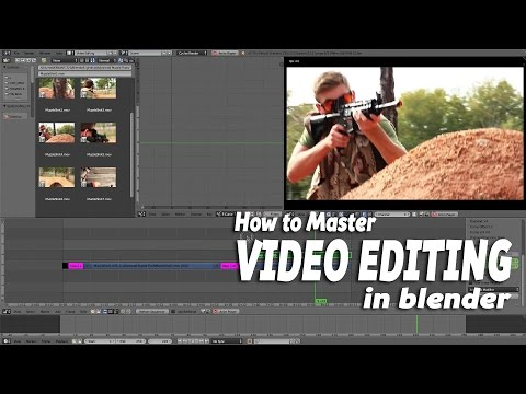 How To Master Video Editing In Blender.