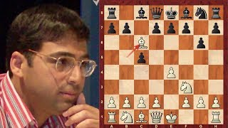 Amazing Chess Game: Viswanathan Anand vs Daniil Dubov Tal Memorial (Rapid) (2018): Sicilian Defense
