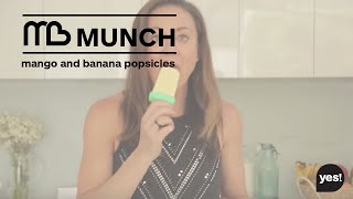 Mango And Banana Popsicle Recipe - Michelle Bridges