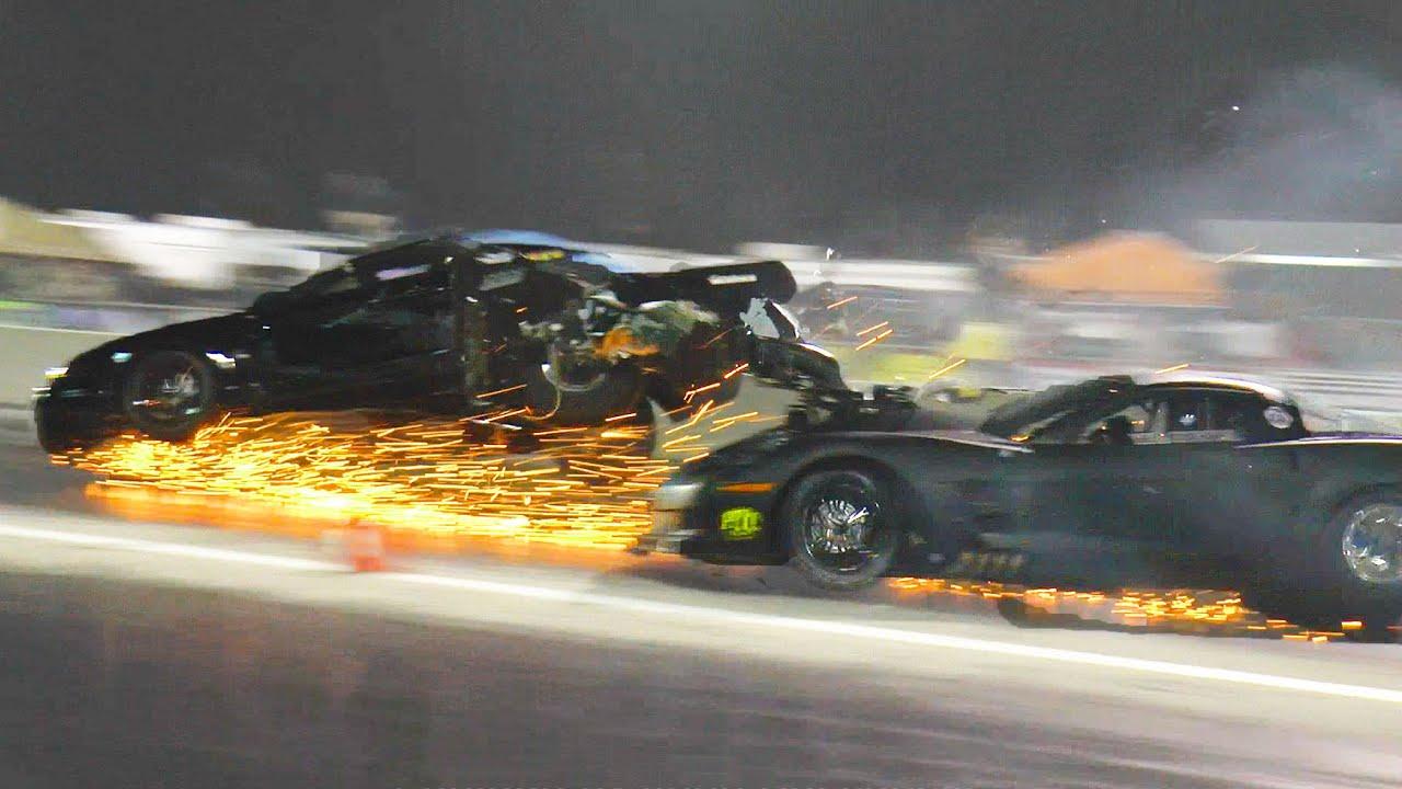 Blown Cars Wallpaper Bad Wreck Blown Corvette Amp Turbo Mustang Destroyed