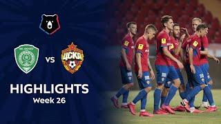 Highlights Akhmat vs CSKA (0-4) | RPL 2019/20