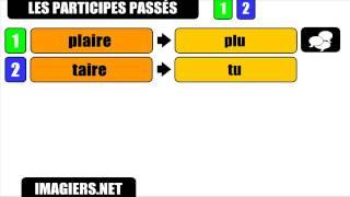 Урок французского языка = причастий прошедшего # AIRE   U # 1