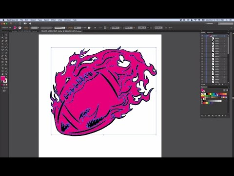 Art for Screen Printing - Adobe Illustrator Edition