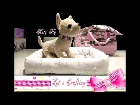 видео: Как сшить кроватку для собачки - how to sew a dog bed