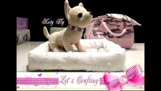 Как сшить кроватку для собачки - How to sew a dog bed(У каждого ребенка есть любимец. Возможно это собачка, котенок или другое животное. Но где же ему спать, когда..., 2015-12-05T00:42:47.000Z)
