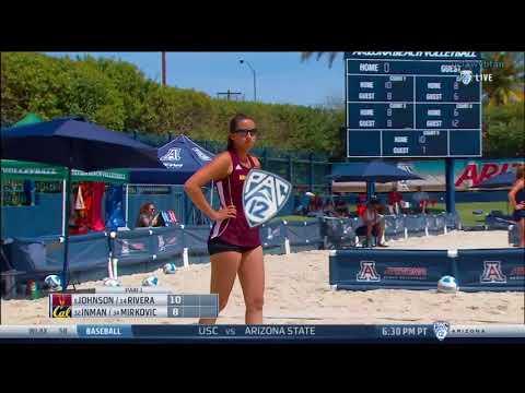 ASU vs CAL - NCAA Women's Beach Volleyball (April 6th 2018)