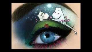 видео Фото кукольный макияж