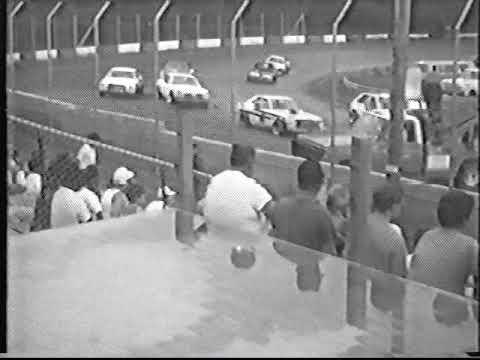 Stock 4 Heats County Line Raceway 1989