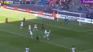 Caen - Lyon 2-2 tout les but