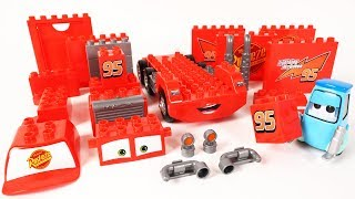 Download Cars Guido's Block Building Mack Truck Block Toys Assembly Video for Kids Mp3 and Videos