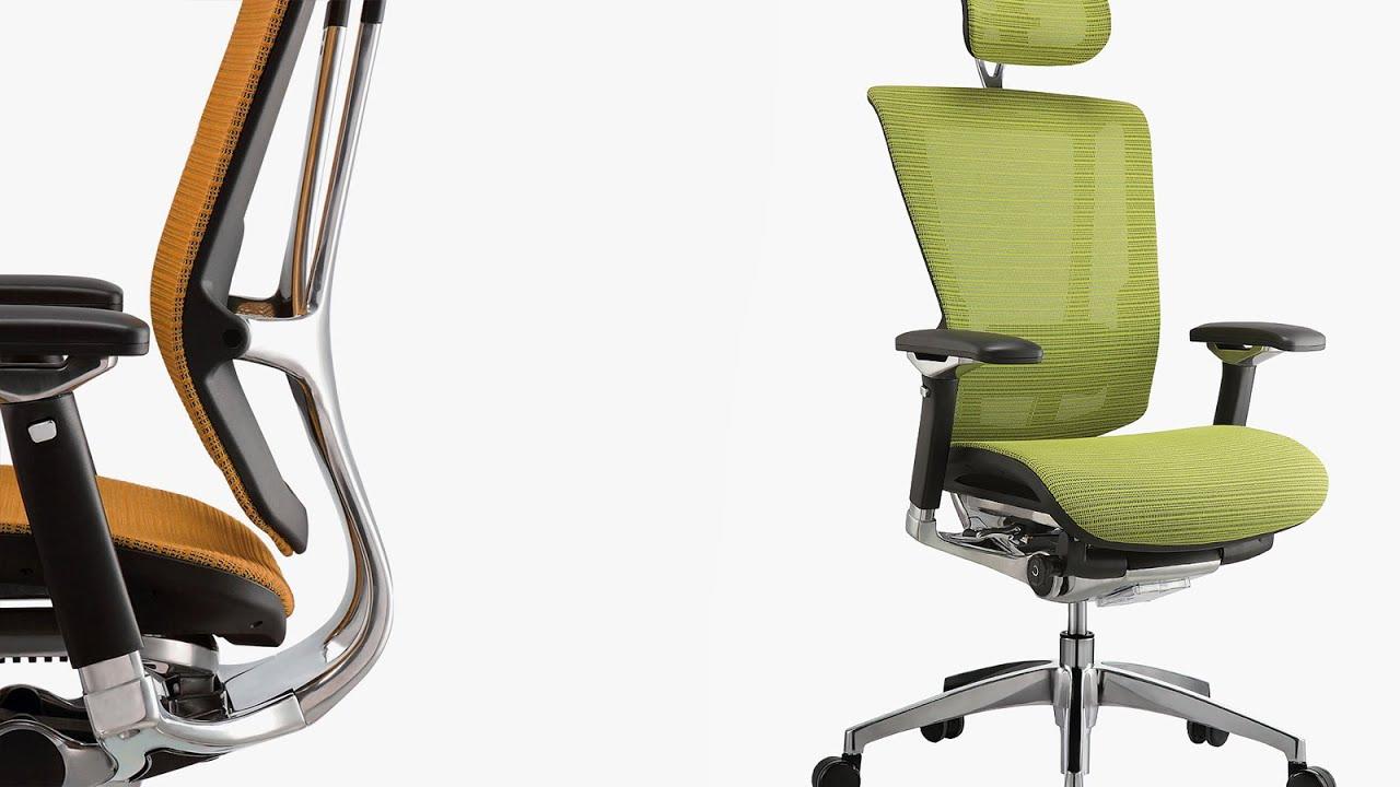 nefil ergonomic office chair youtube