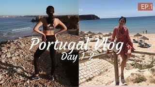 Portugal Vlog EP.1  เที่ยวโปรตุเกสครั้งแรก ทะเลสวย บรรยากาศดีมาก :: Pair Patteera