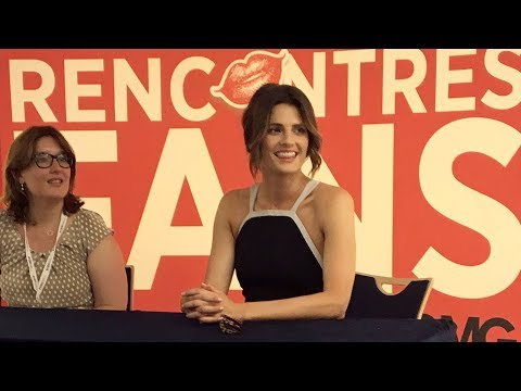 Monte Carlo Television Festival: Stana Katic Fan Meeting
