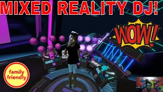 Kid creates groovy beats in Electronauts Jam Session! Virtual Reality DJ powered by LIV! TeamCC