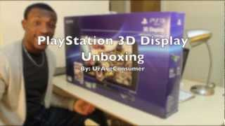 Playstation 3D Display Unboxing