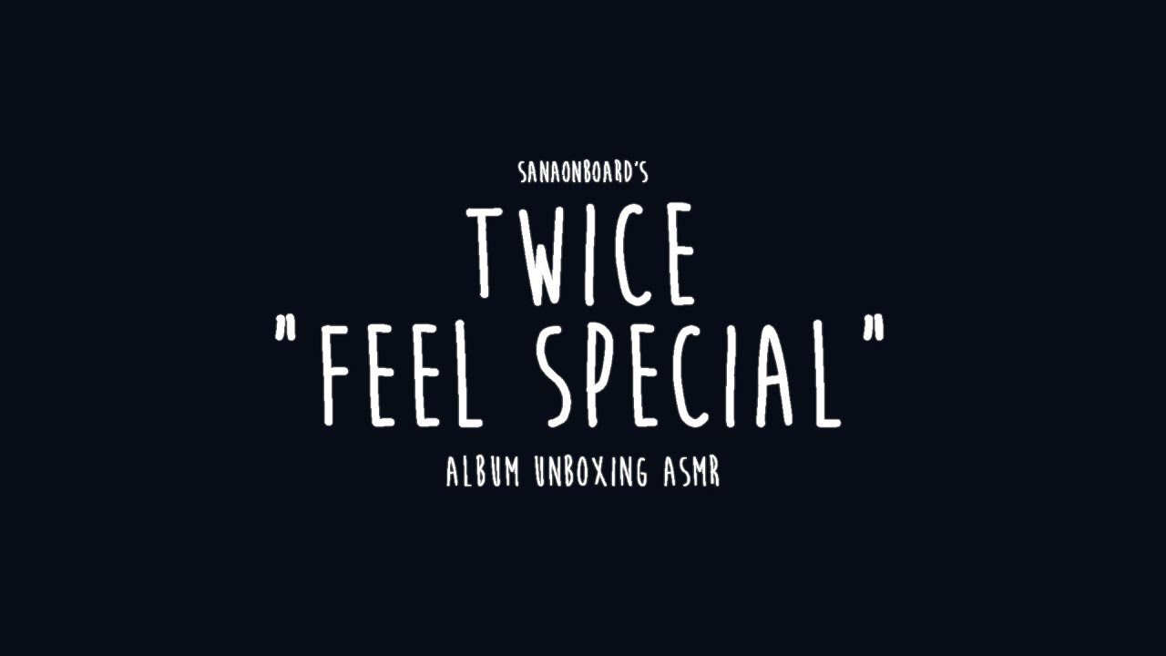 "[UNBOXING ASMR] TWICE - ""FEEL SPECIAL"" ALBUMS"
